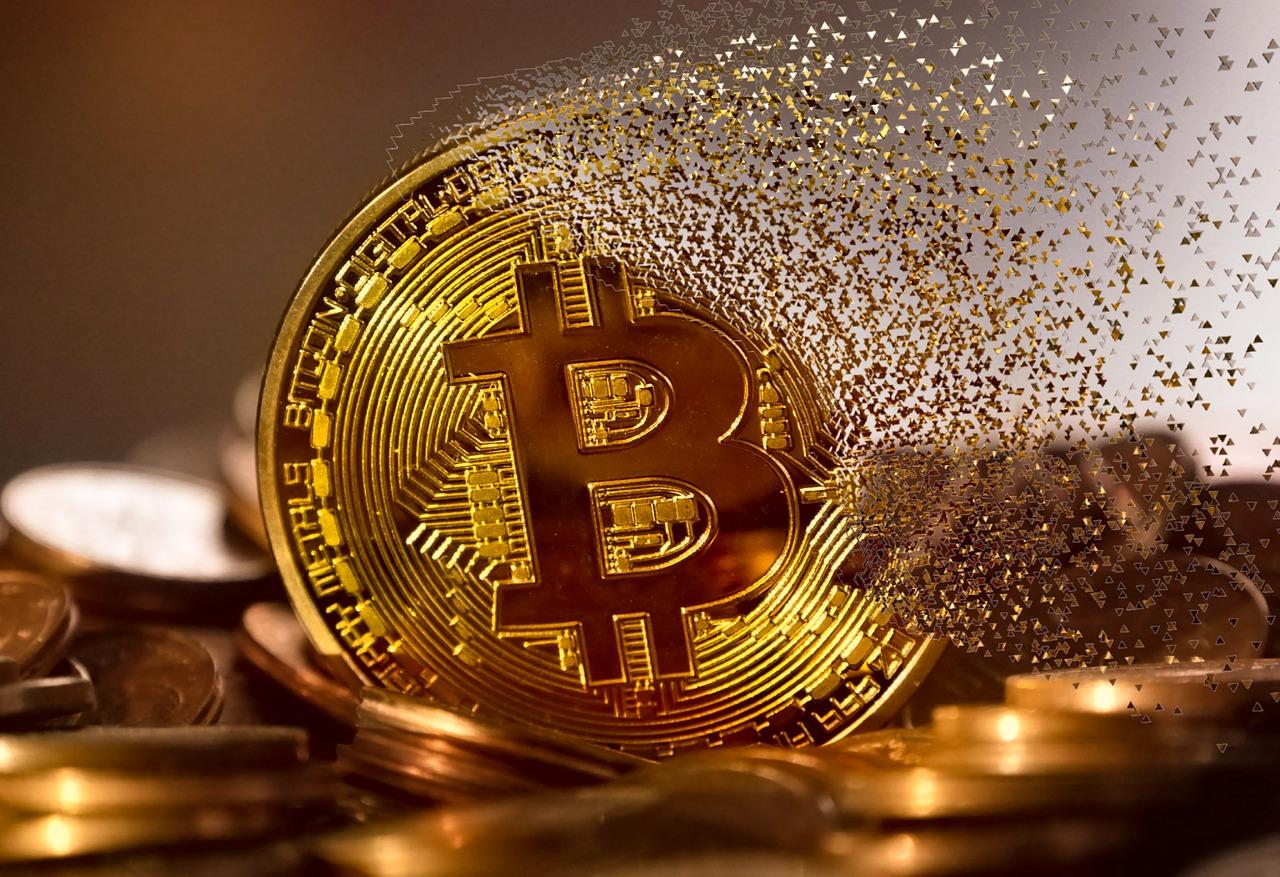 bitcoin vanishing in thin air